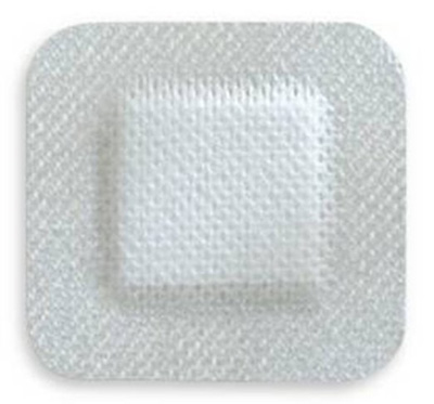 Adhesive Dressing McKesson 4 X 4 Inch Nonwoven Gauze Square White NonSterile