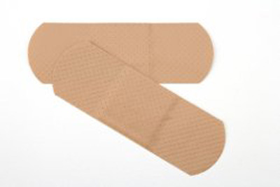 Curity Adhesive Strip 1 X 3 Inch Plastic Rectangle Tan Sterile - 44115 - Case of 3600