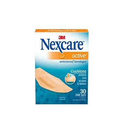 Adhesive Strip Nexcare ActiveWaterproof Assorted Sizes Tan