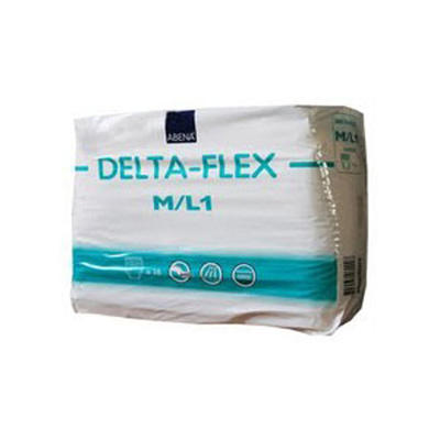 Adult Absorbent Underwear Abena Delta-Flex L1 Pull On Medium / Large Disposable Moderate Absorbency