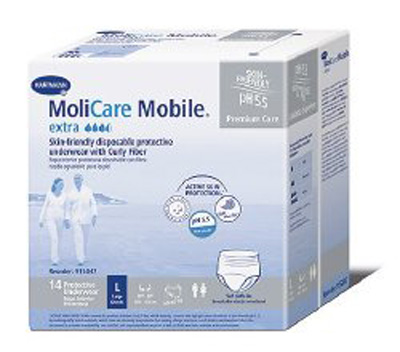 Adult Absorbent Underwear Molicare Mobile Extra Pull On Medium Disposable Heavy Absorbency