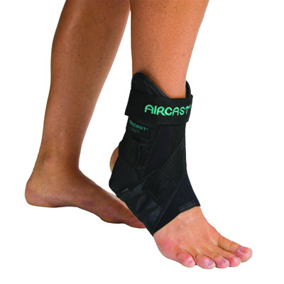 AirSport Ankle Support Medium Hook and Loop Closure Female Size 9 - 12.5 / Male Size 7.5 - 11 Right Ankle