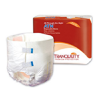 All-Through-the-Night ATN Disposable Briefs - Medium - 2185