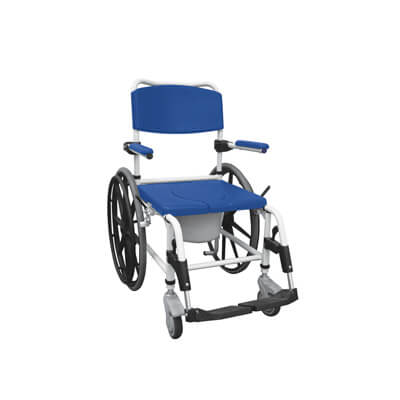 Drive Medical Aluminum Shower Commode Wheelchair Model nrs185006