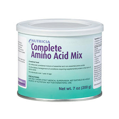 Amino Acid Oral Supplement Complete Amino Acid Mix Unflavored 7 oz. Can Powder