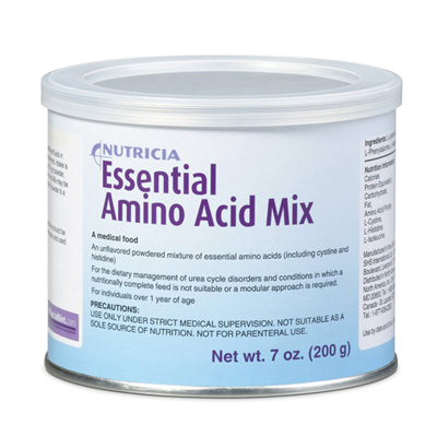 Amino Acid Oral Supplement Essential Amino Acid Mix Unflavored 7 oz. Can Powder