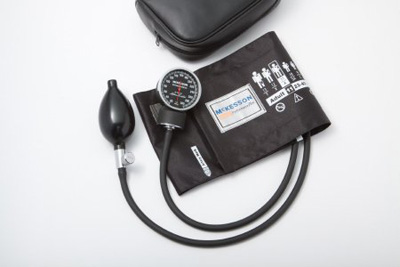 Aneroid Sphygmomanometer McKesson LUMEON Pocket Style Hand Held 2-Tube Large, Adult Arm