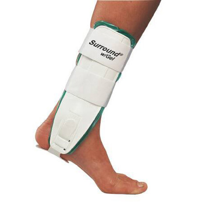 Ankle Support Surround Medium Hook and Loop Closure Left or Right Foot