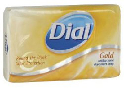 Antibacterial Soap Dial Bar 3.5 oz. Individually Wrapped Scented
