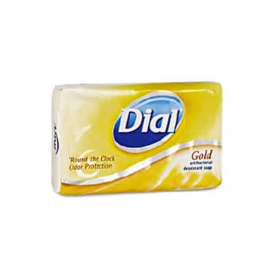 Dial Bar 4.5 oz. Individually Wrapped Scented Antibacterial Soap  - Case of 72