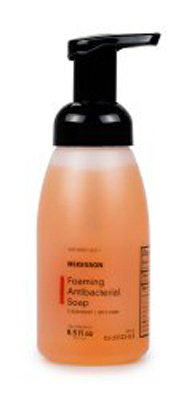 Antibacterial Soap McKesson Foaming 8.5 oz Pump Bottle Clean Scent