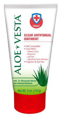 Antifungal Aloe Vesta 2% Strength Ointment 2 oz. Tube