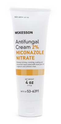Antifungal McKesson 2% Strength Cream 4 oz. Tube