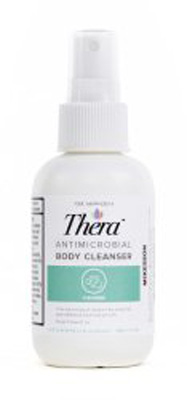 Antimicrobial Body Wash Thera Liquid 4 fl oz Pump Bottle Scented