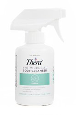 Antimicrobial Body Wash Thera Liquid 8 fl oz Spray Bottle Scented