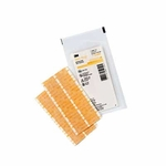Antimicrobial Skin Closure Strip Steri-Strip Antimicrobial 1 X 5 Inch Nonwoven Material Reinforced Strip Tan
