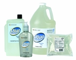 Liquid Dial Sensitive Liquid 800 mL Dispenser Refill Bag Scented Antimicrobial Soap - Case of 12