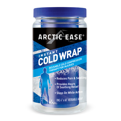 Arctic Ease Instant Cold Wrap Large Blue 4 x 60 in