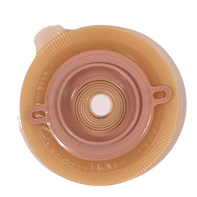 Assura AC EasiClose Filtered Ostomy Pouch Two-Piece System 11-1/4 in Length, Maxi 1-3/8 in Stoma Drainable Opaque with Green Coupling