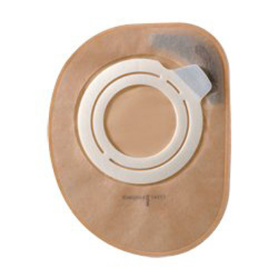 Assura AC Filtered Ostomy Pouch Two-Piece System 8-1/2 in Length, Maxi 2 in Stoma Closed End Opaque