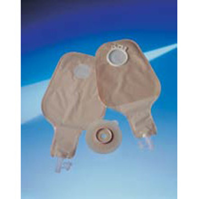 Assura Ileostomy Night Drainage Bag Two-Piece System 2 L Drainable Red
