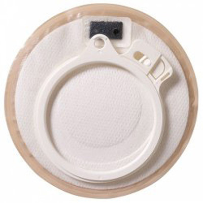 Assura Stoma Cap 3/8 - 1 1/2 in Stoma, Opaque, Two-Piece