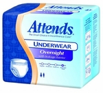 Attends Overnight Protective Underwear  - Medium - APPNT20 - 64/cs