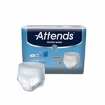 Attends Underwear Extra Absorbency - Large HHC - AP0730100 - 100/cs