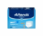 Attends Underwear Extra Absorbency - Med, HHC - AP0720100 - 100/cs