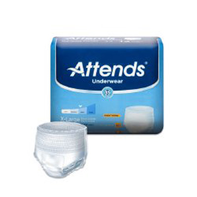 Attends Underwear Extra Absorbency - X-Large HHC - AP0740100 - 100/cs