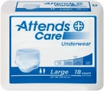 Attends Underwear Regular Absorbency - X-Large - APV40 - 56/cs