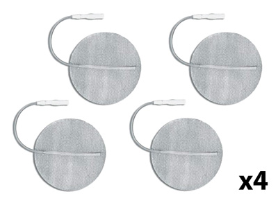 Axelgaard PALS 1.25 in Round Silver Electrodes - 16 Electrotherapy Pads