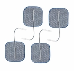 Axelgaard PALS Blue 2 x 2 in Square Silver Electrodes - 4 Pads