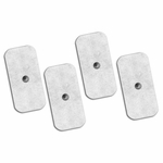 Axelgaard UltraStim Snap Silver Grid Electrodes, 2 x 4 in Rectangle - Model SN2040 - 4 Pads