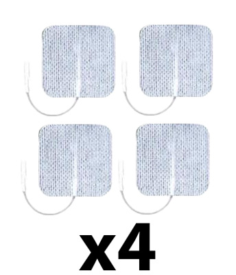 Axelgaard UltraStim 2 x 2 in Square Silver Grid Electrodes - 16 Pads