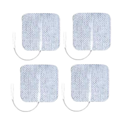 Axelgaard UltraStim 2x2 in Square Silver Grid Electrodes 4 Pads