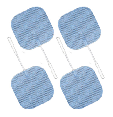 Axelgaard ValuTrode Lite 2 x 2 in Square Carbon Electrodes - 4 Pads