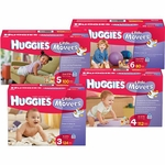 Baby Diaper Huggies Little Movers Tab Closure Size 6 Disposable Heavy Absorbency