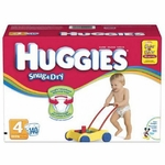 Baby Diaper Huggies Snug & Dry Tab Closure Size 4 Disposable Heavy Absorbency - 10518