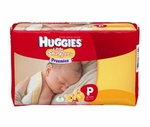 Baby Diaper Huggies Tab Closure Preemie Disposable Heavy Absorbency