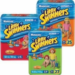 Baby Swim Diaper Huggies Little Swimmers Pull On Small Disposable Heavy Absorbency