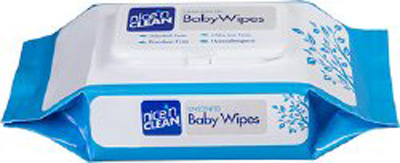 Baby Wipe Nice'n Clean Soft Pack Aloe / Vitamin E Unscented 80 Count