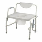 Drive Medical Bariatric Drop Arm Bedside Commode Chair Model 11135-1