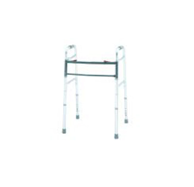 Bariatric Dual Release Folding Walker Adult Aluminum 500 lbs. 32 to 39 Inch