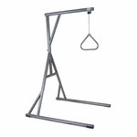 Drive Medical Bariatric Heavy Duty Silver Vein Trapeze Bar Model 13049sv