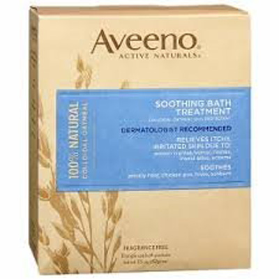 Aveeno 1.5 oz. Bath Additive - Individual Packet Unscented Powder- Case of 192