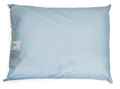 Bed Pillow McKesson 19 X 25 Inch Blue Reusable - 41-1925-BXF