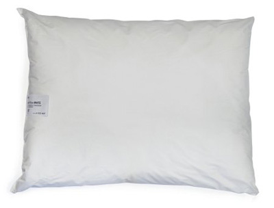 Bed Pillow McKesson 19 X 25 Inch White Reusable