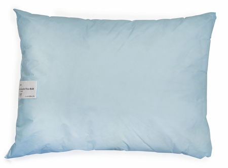 Bed Pillow McKesson 20 X 26 Inch Blue Reusable