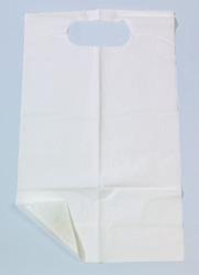 Tidi Bib Economy Slipover Disposable Tissue / Poly